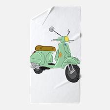 Vespa PX Sketch Beach Towel