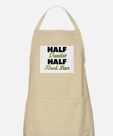 Half Dentist Half Rock Star Apron