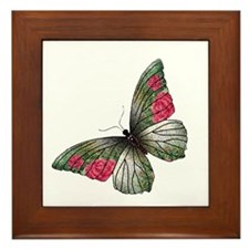 Fancy Wings Framed Tile