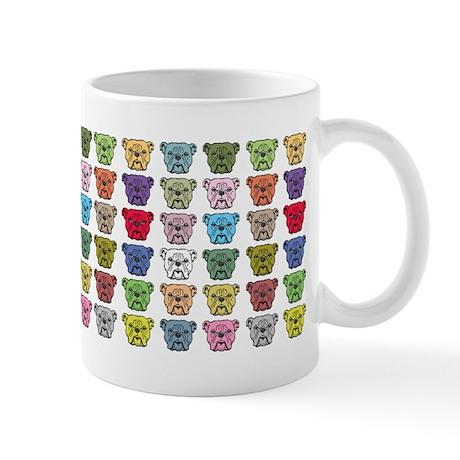 Multi-Bulldogs Mug