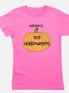 Custom 1st Halloween Girl's Tee