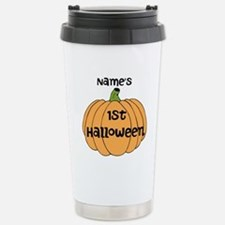 Custom 1st Halloween Stainless Steel Travel Mug