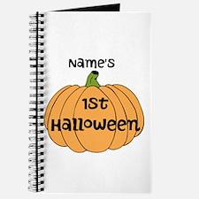 Custom 1st Halloween Journal