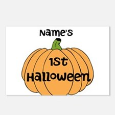 Custom 1st Halloween Postcards (Package of 8)