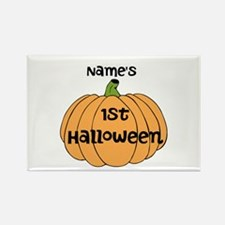 Custom 1st Halloween Rectangle Magnet (100 pack)