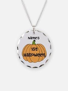 Custom 1st Halloween Necklace