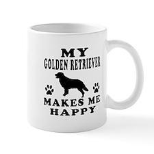 My Golden Retriever makes me happy Mug