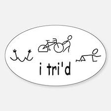 i trid Stickers
