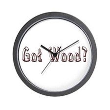Got Wood? Wall Clock