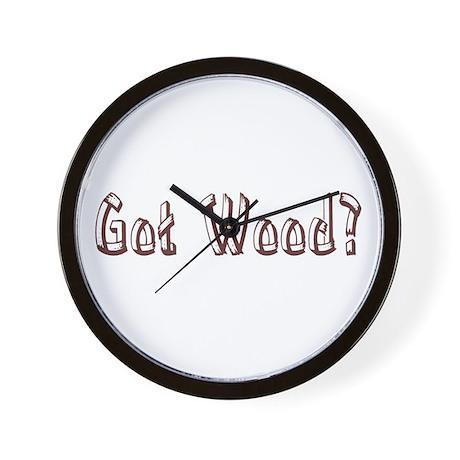 Got Wood? Wall Clock