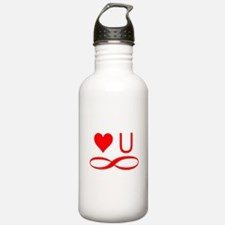 Love you forever Water Bottle