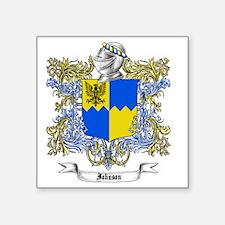 "Johnson Family Crest 2 Square Sticker 3"" x 3"""