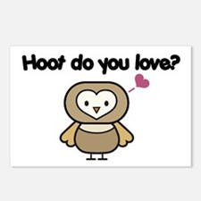 Hoot Do You Love? Postcards (Package of 8)