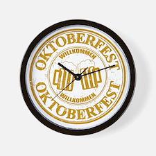 Oktoberfest Seal Wall Clock