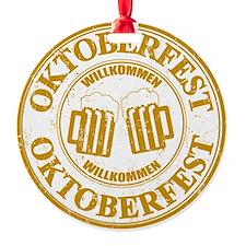 Oktoberfest Seal Ornament
