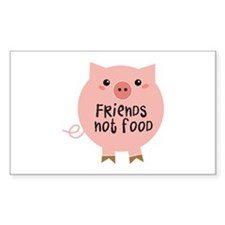 friends not food Decal