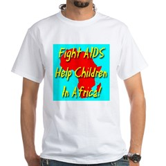 Fight AIDS Help Children In A Shirt