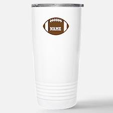 Custom Football Stainless Steel Travel Mug