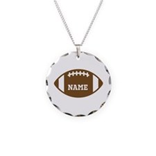 Custom Football Necklace