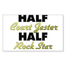 Half Court Jester Half Rock Star Decal