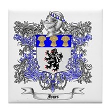 Jones Family Crest 2 Tile Coaster