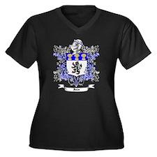 Jones Family Women's Plus Size Dark V-Neck T-Shirt
