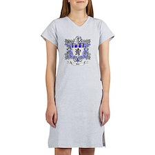 Jones Family Crest 2 Women's Nightshirt