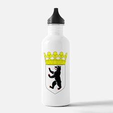 Berlin Germany Coat of Water Bottle