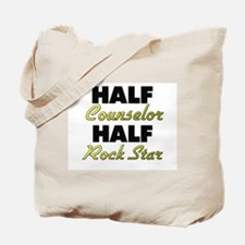 Half Counselor Half Rock Star Tote Bag