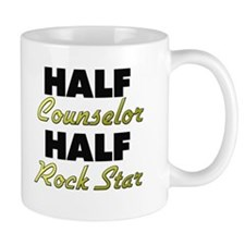 Half Counselor Half Rock Star Mugs