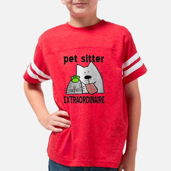petsitterextraordinaire Youth Football Shirt