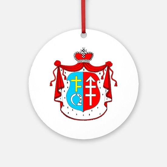 Siemiatycze Crest Ornament (Round)