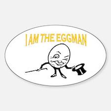 I AM THE EGGMAN Decal