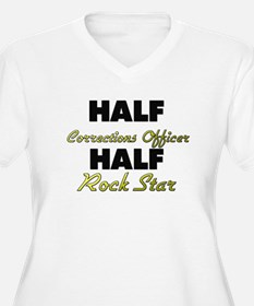Half Corrections Officer Half Rock Star Plus Size