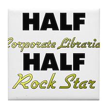 Half Corporate Librarian Half Rock Star Tile Coast