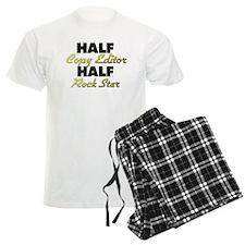 Half Copy Editor Half Rock Star Pajamas