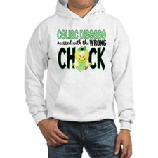 Celiac Disease Messed With Wrong Chick Hoodie