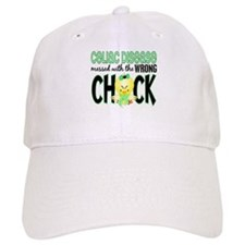 Celiac Disease Messed With Wrong Chick Baseball Cap