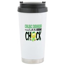 Celiac Disease Messed With Wrong Chick Travel Mug