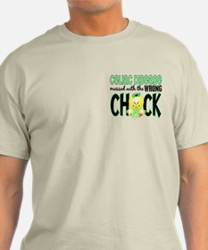 Celiac Disease Messed With Wrong Chick T-Shirt