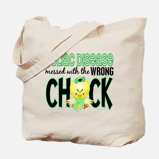 Celiac Disease Messed With Wrong Chick Tote Bag