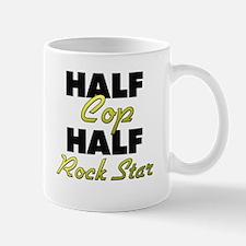 Half Cop Half Rock Star Mugs