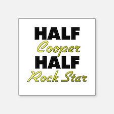 Half Cooper Half Rock Star Sticker
