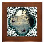 Pennies From Heaven Framed Tile