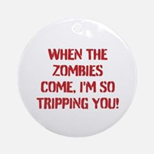 Zombies Ornament (Round)