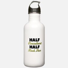 Half Consultant Half Rock Star Water Bottle
