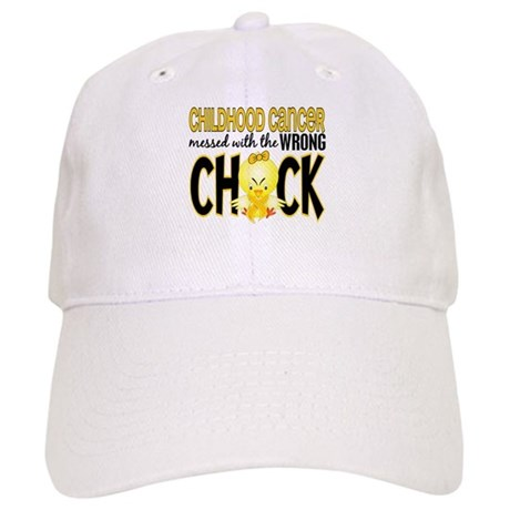 Childhood Cancer Messed With Wrong Chick Cap