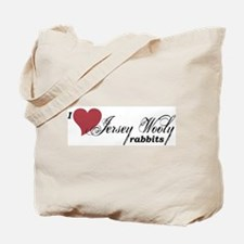 Jersey Wooly rabbit Tote Bag