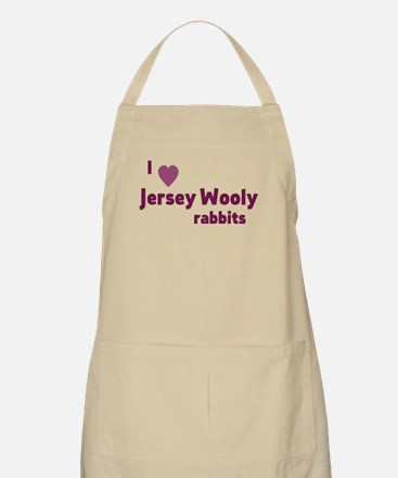 Jersey Wooly rabbit Light Apron