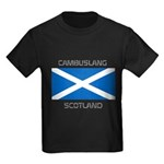 Cambuslang Scotland Kids Dark T-Shirt